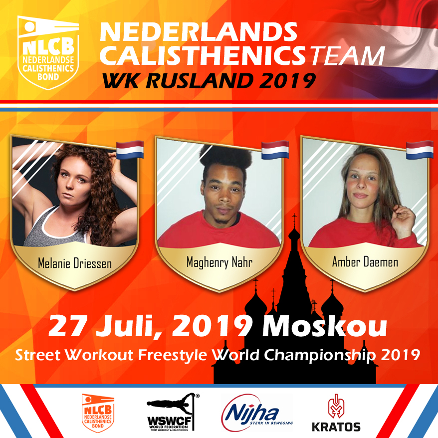 TeamNL op WK Freestyle in Rusland