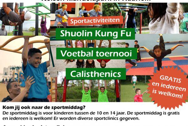 sportmiddag vol gezelligheid en sporten, waaronder ook Calisthenics!