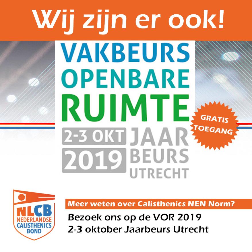 Nederlandse Calisthenicsbond op Vakbeurs Openbare Ruimte 2019